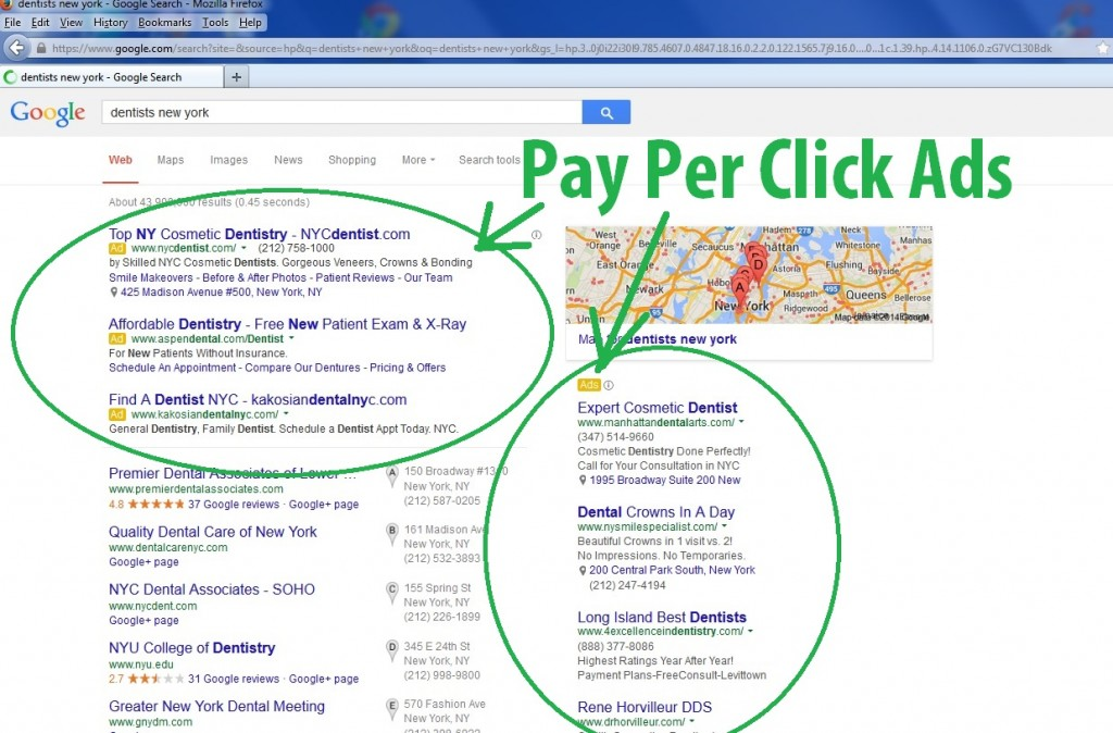 pay per click example